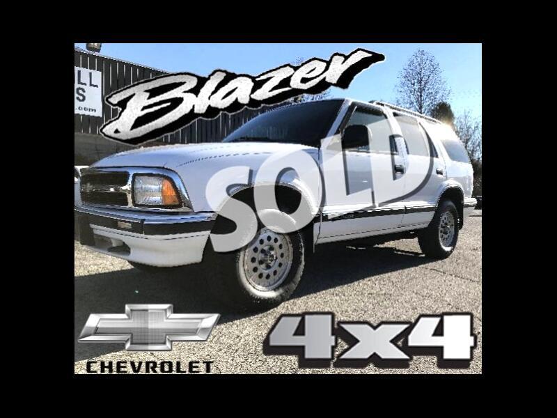 1996 Chevrolet Blazer 4-Door 4WD