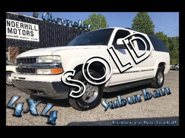 2002 Chevrolet Suburban 1500 4WD