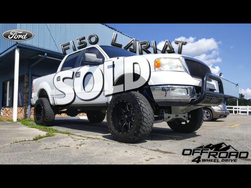 2005 Ford F-150 Lariat 4WD SuperCrew 6.5' Box