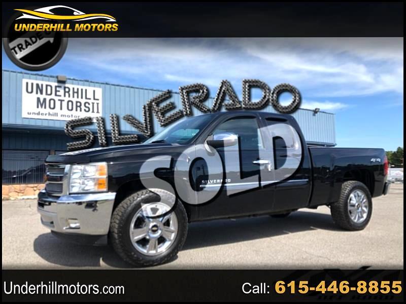 2013 Chevrolet Silverado 1500 LT Ext. Cab Short Bed 4WD