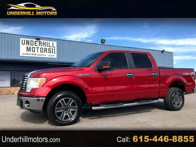 "Ford F-150 SuperCrew 150"" XLT 4WD 2010"