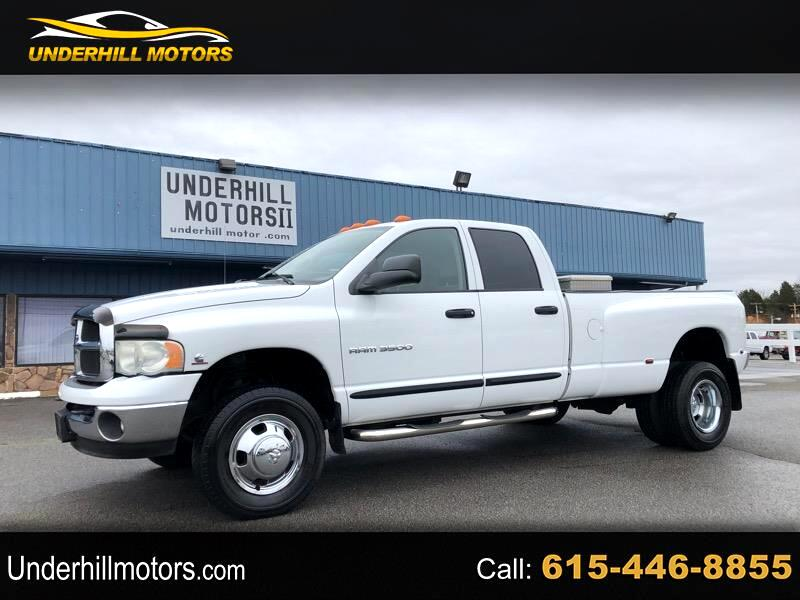 Dodge Ram 3500 SLT Quad Cab Long Bed 4WD DRW 2005