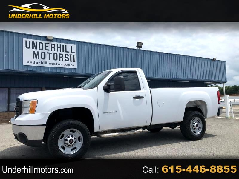 GMC Sierra 2500HD Work Truck Long Box 2WD 2013