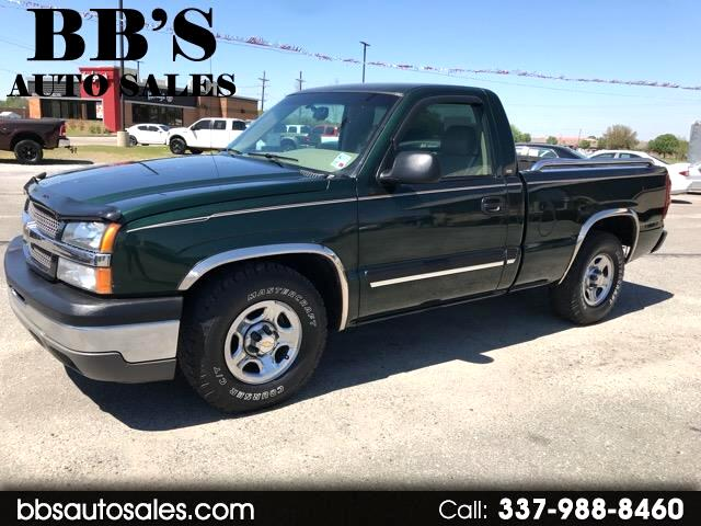2003 Chevrolet Silverado 1500 LS Regular Cab Short Bed 2WD