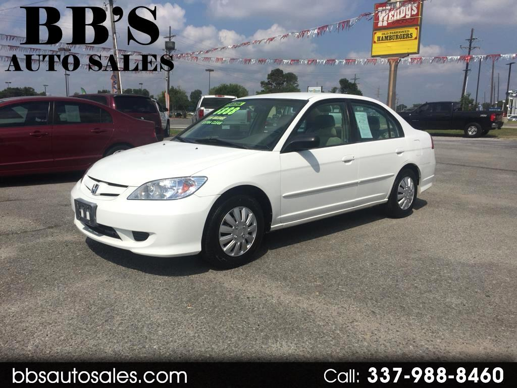 2005 Honda Civic GX Sedan NGV CVT w/ABS