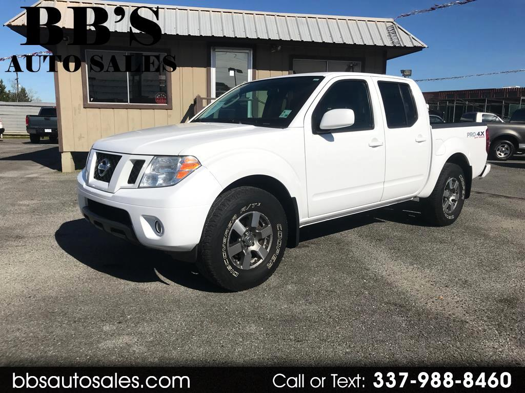 2010 Nissan Frontier PRO-4X Crew Cab 2WD