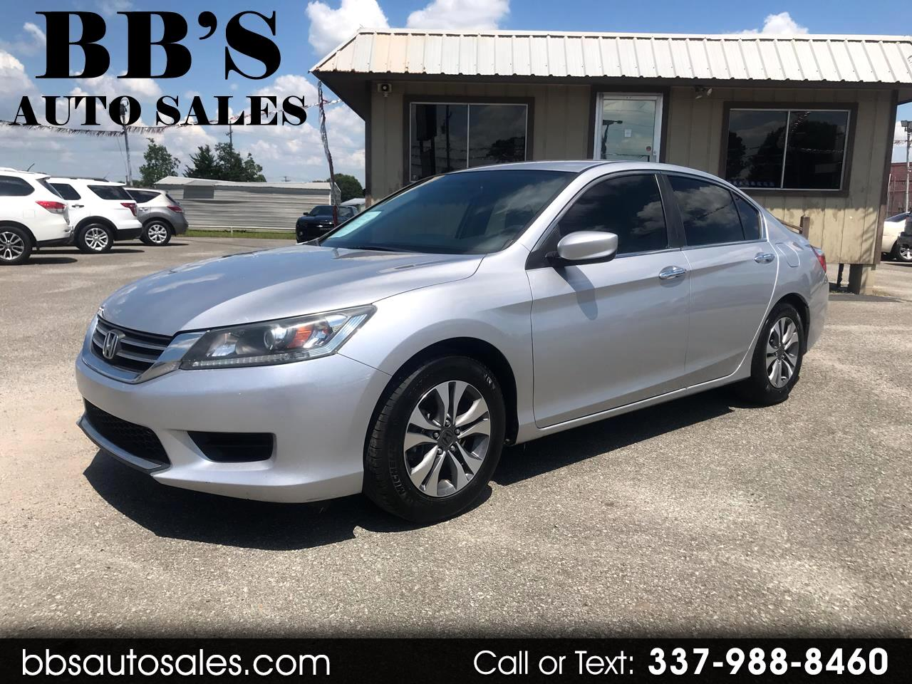 Honda Accord 2013 For Sale >> Used 2013 Honda Accord In Lafayette La Auto Com 1hgcr2f37da026807