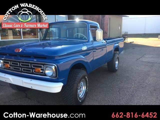 1964 Ford F-100 ORIGINAL RESTORED FACTORY 4WD