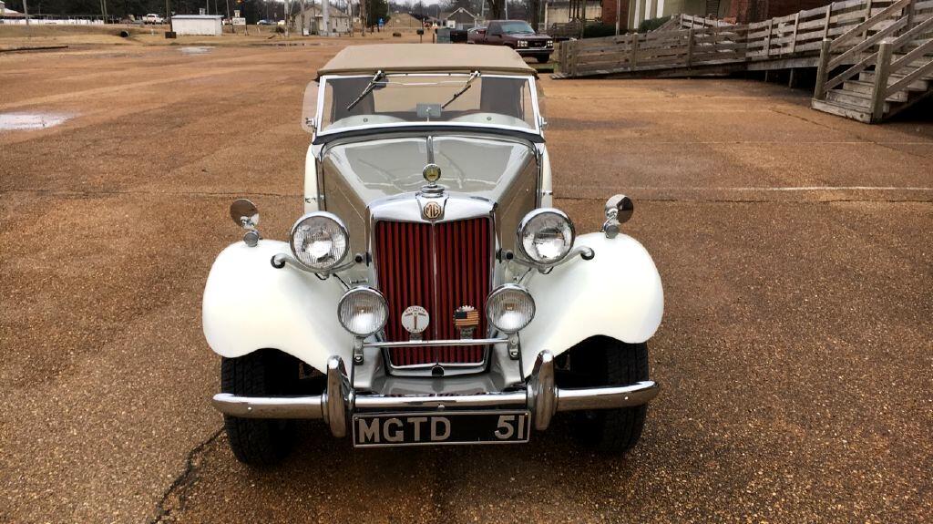1951 MG TD ORIGINAL, RESTORED