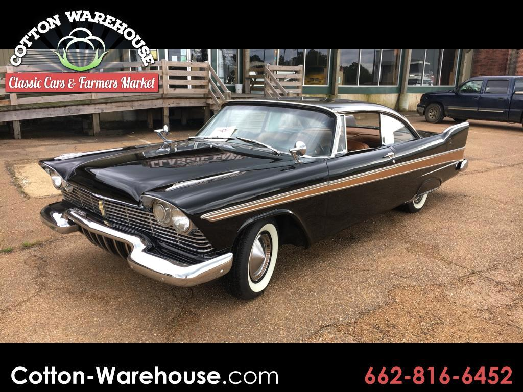 1957 Plymouth Belvedere FURY PKG, WIDE BLOCK 318 W/DUAL 4 BARREL CARBS, WI
