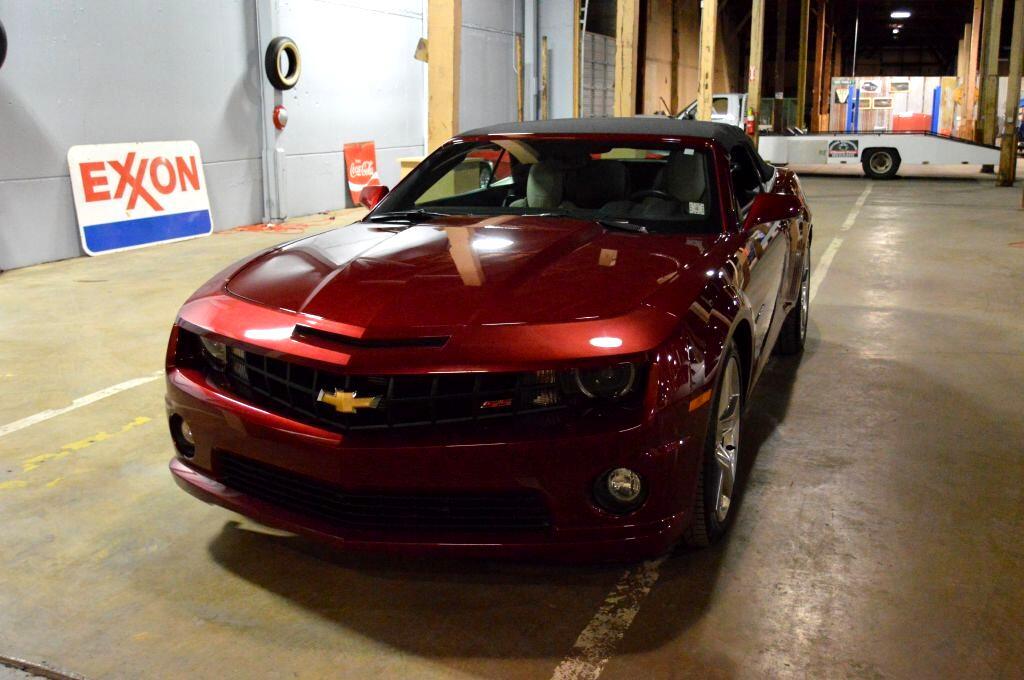 Chevrolet Camaro Convertible 2SS 2011