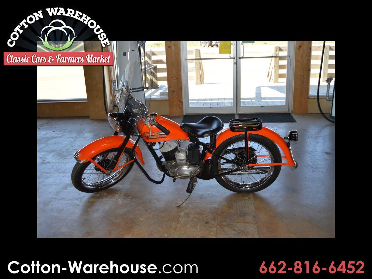 Harley-Davidson 165 Hummer  1957