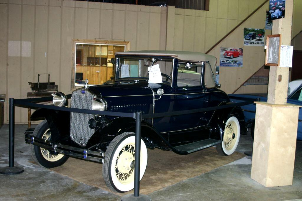 1930 Ford Model A Cabroliet with rumble seat