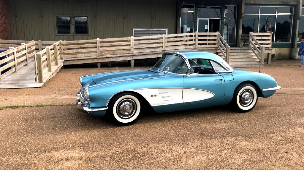 1959 Chevrolet Corvette Convertible with both tops