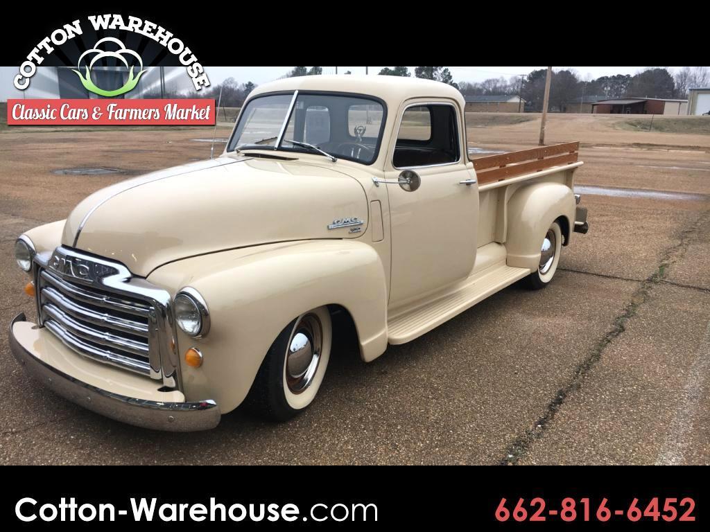 1950 GMC C100 1/2 ton pickup LWB