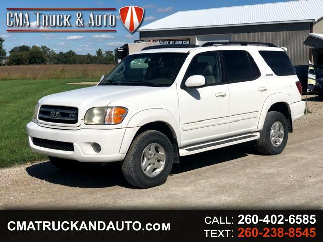 2002 Toyota Sequoia Limited 4WD