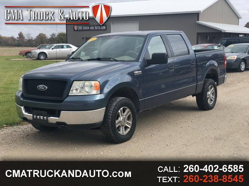 "2005 Ford F-150 4WD SuperCrew 139"" XLT"