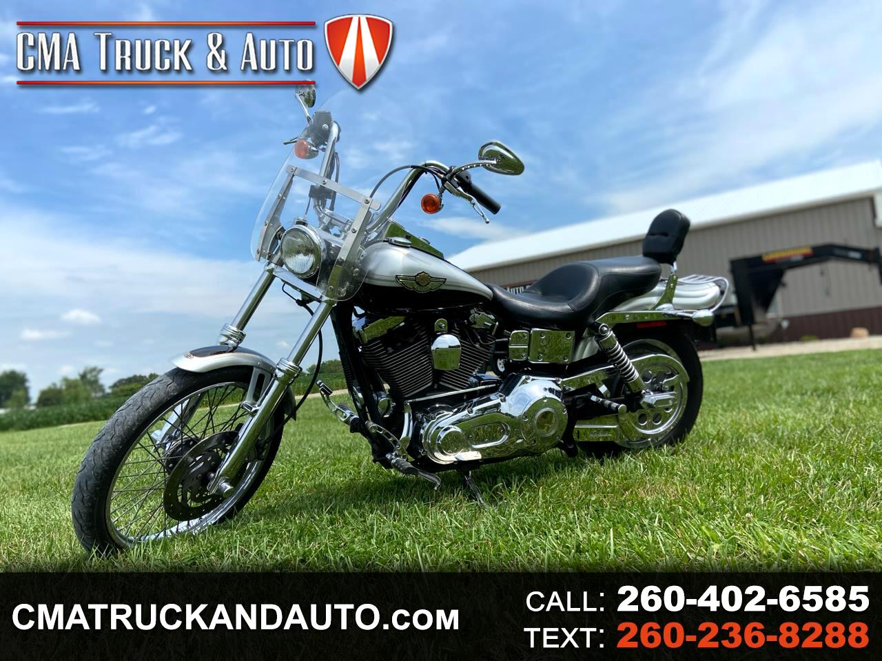 Used 2003 Harley Davidson Dyna Wide Glide For Sale In Berne In 46711 Cma Truck And Auto