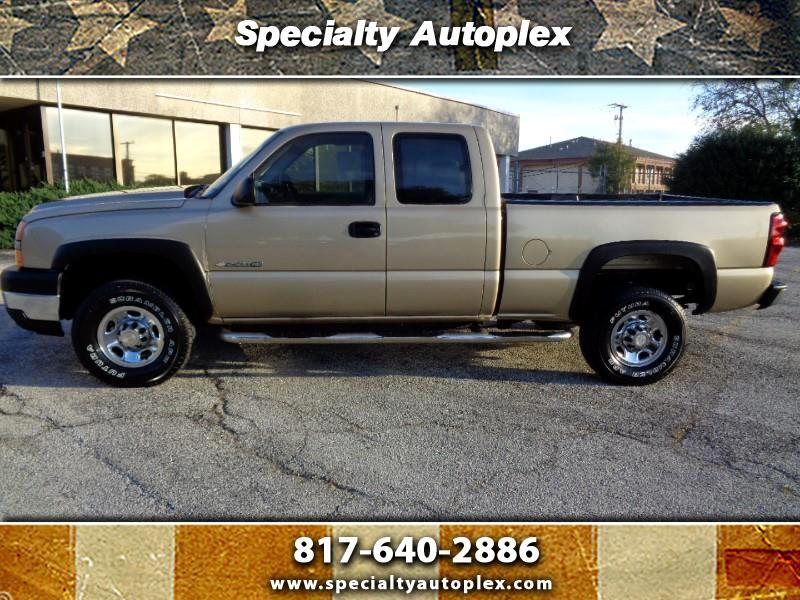 2006 Chevrolet Silverado 2500HD Ext. Cab Short Bed 2WD
