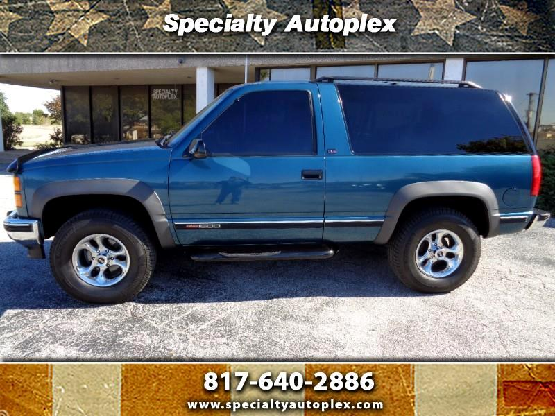 used 1994 gmc yukon 2 door 4wd sle for sale in arlington dallas fort w tx 76011 specialty autoplex used 1994 gmc yukon 2 door 4wd sle for