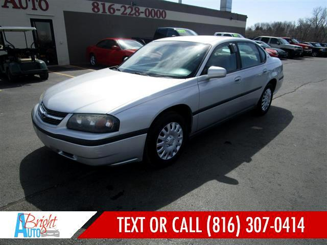 2001 Chevrolet Impala RUNS GOOD!