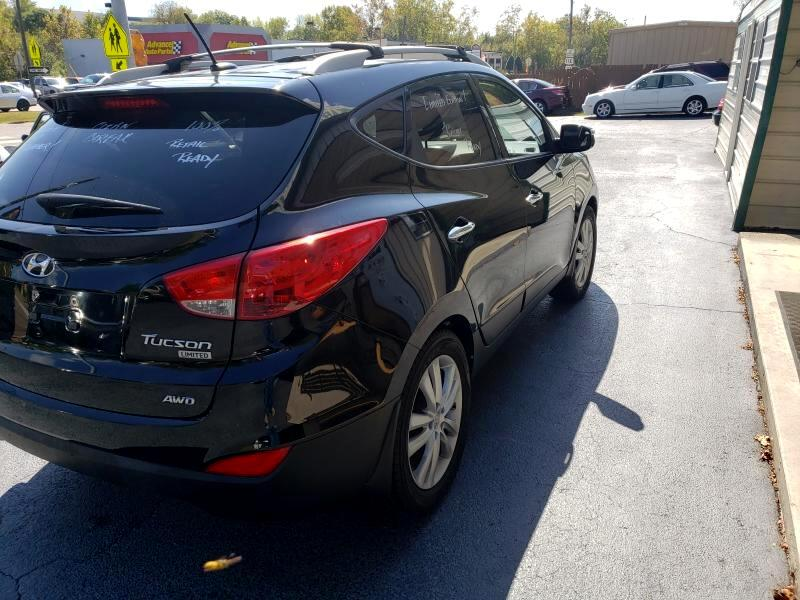 2012 Hyundai Tucson 4dr GLS 4WD 2.7L V6 Auto
