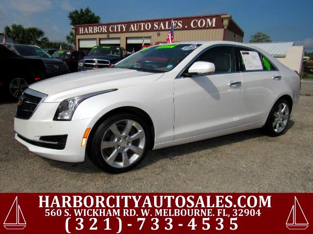 2015 Cadillac ATS 2.0L Turbo Luxury Sedan RWD