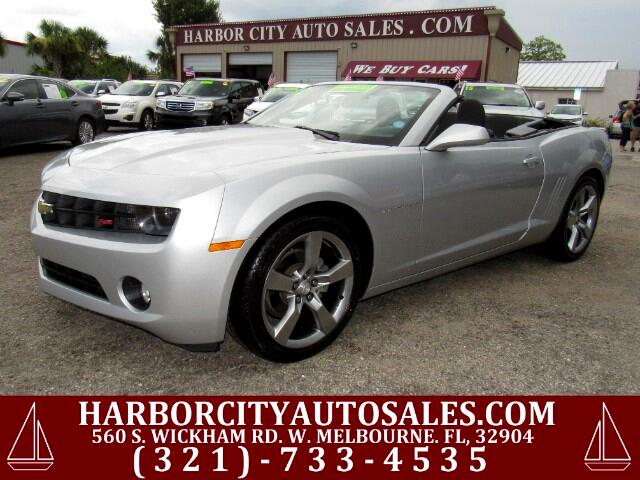 2012 Chevrolet Camaro LT Convertible RS Package