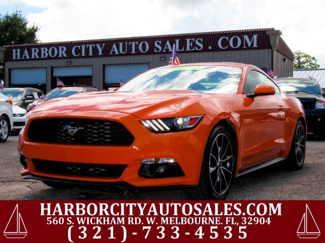 2016 Ford Mustang EcoBoost I4 Turbo
