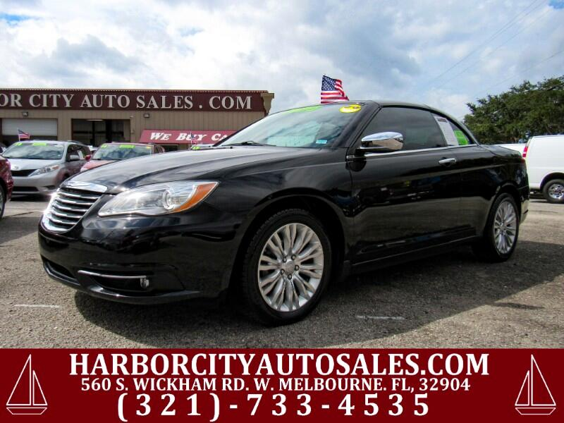2014 Chrysler 200 2dr Conv Limited