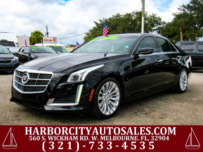 2014 Cadillac CTS Sedan 4dr Sdn 2.0L Turbo Performance RWD