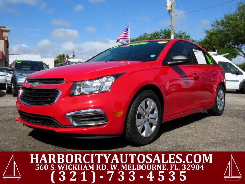 2016 Chevrolet Cruze Limited 4dr Sdn Man LS