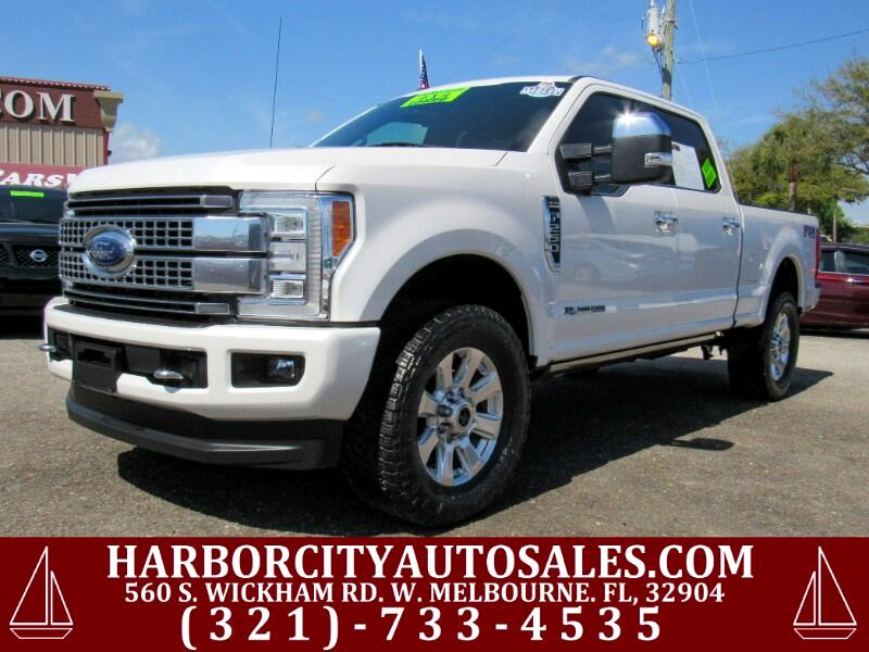 2017 Ford Super Duty F-250 SRW Platinum 4WD Crew Cab 6.75' Box