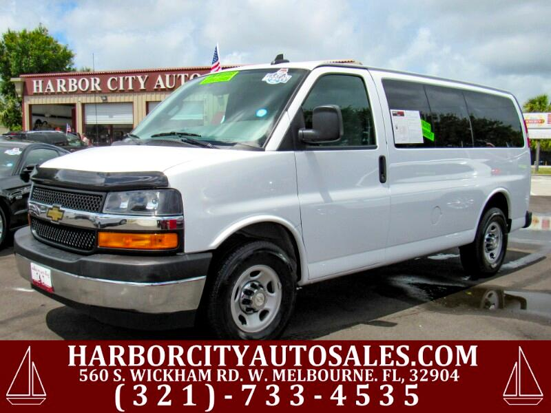 "2018 Chevrolet Express Passenger RWD 2500 135"" LT"