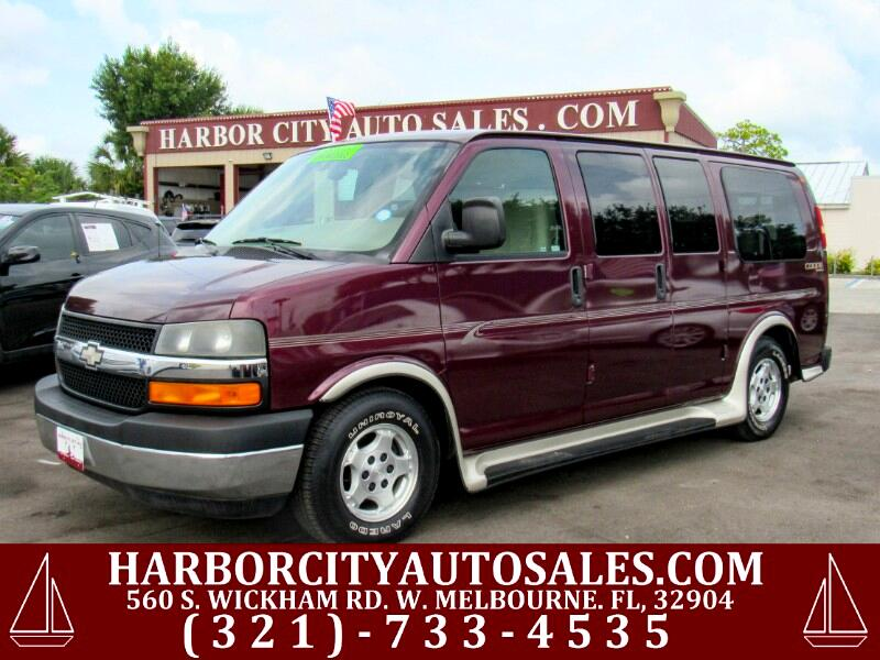 2005 Chevrolet Express Van WHEELCHAIR VAN
