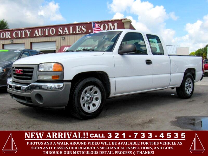 "2007 GMC Sierra 1500 Classic 2WD Ext Cab 143.5"" Work Truck"