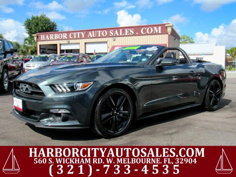 2015 Ford Mustang 2dr Conv EcoBoost Premium