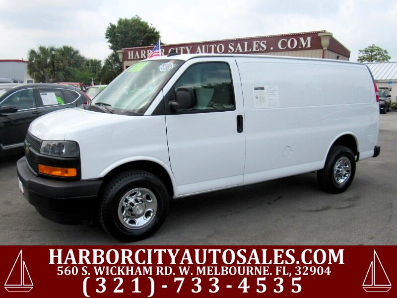"""Chevrolet Express Cargo Van RWD 2500 135"""" 2018"""