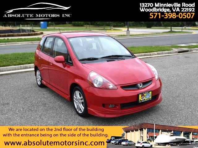 2007 Honda Fit Sport 5-Speed AT
