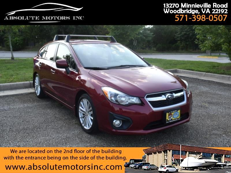 Subaru Impreza Limited 5-Door 2014