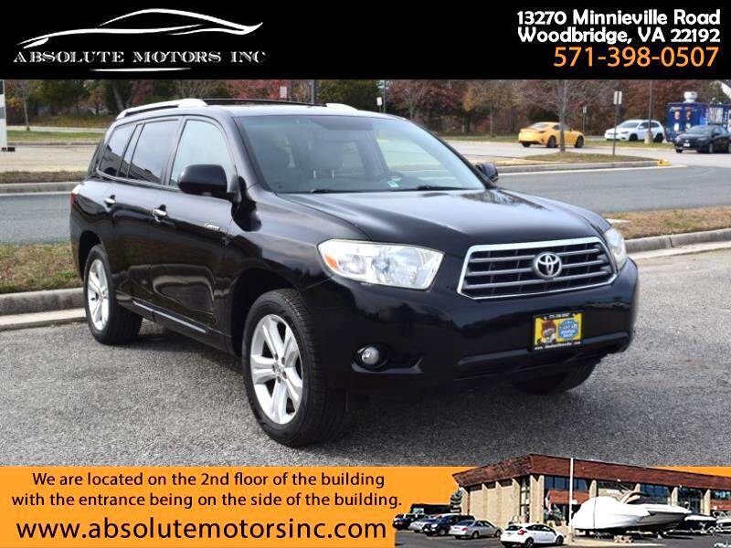 Toyota Highlander 2WD 4dr V6 Limited w/3rd Row (Natl) 2008