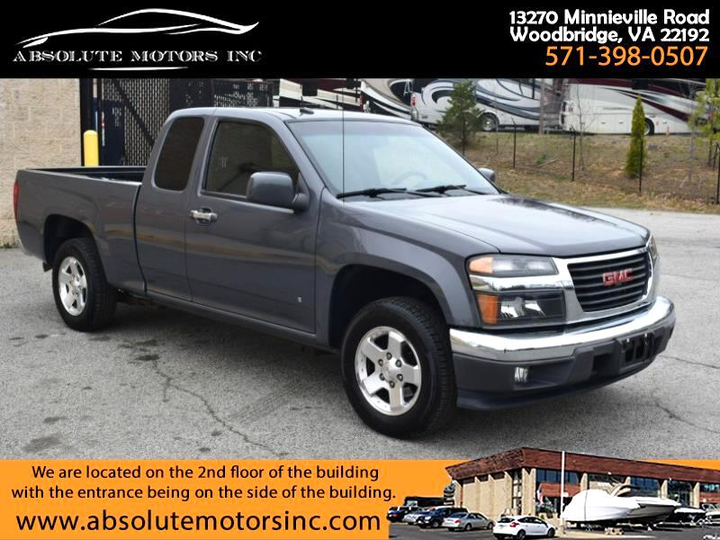 "GMC Canyon 2WD Ext Cab 128.3"" SLE 2009"