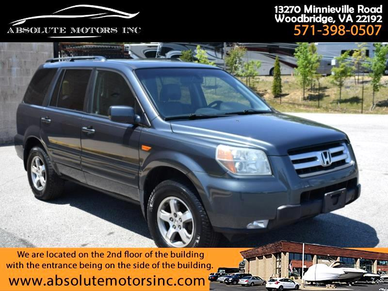 Honda Pilot EX 4WD w/ Leather 2006