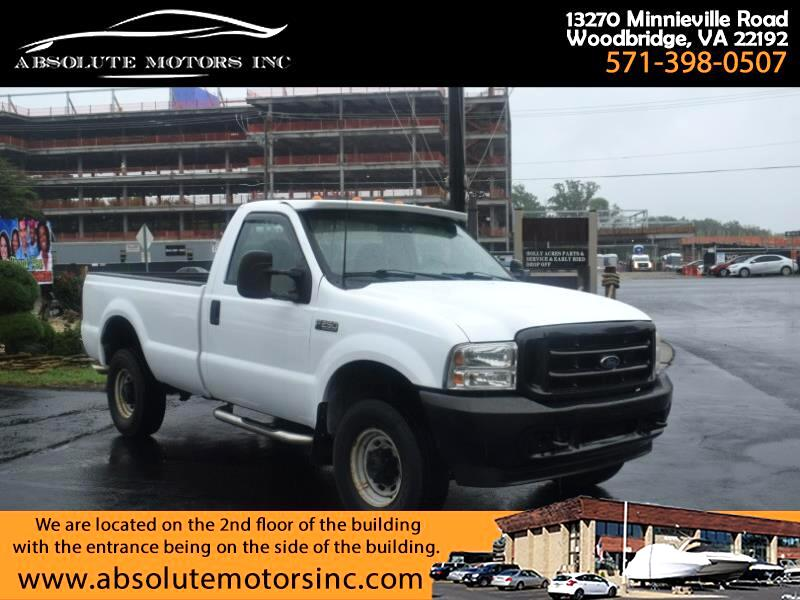 Ford F-250 SD XL Reg. Cab 4WD 2003
