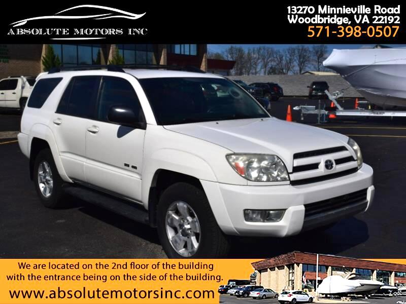 Toyota 4Runner Sport Edition 4WD 2004