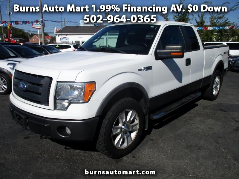 """2009 Ford F-150 4WD SuperCab 145"""" FX4"""