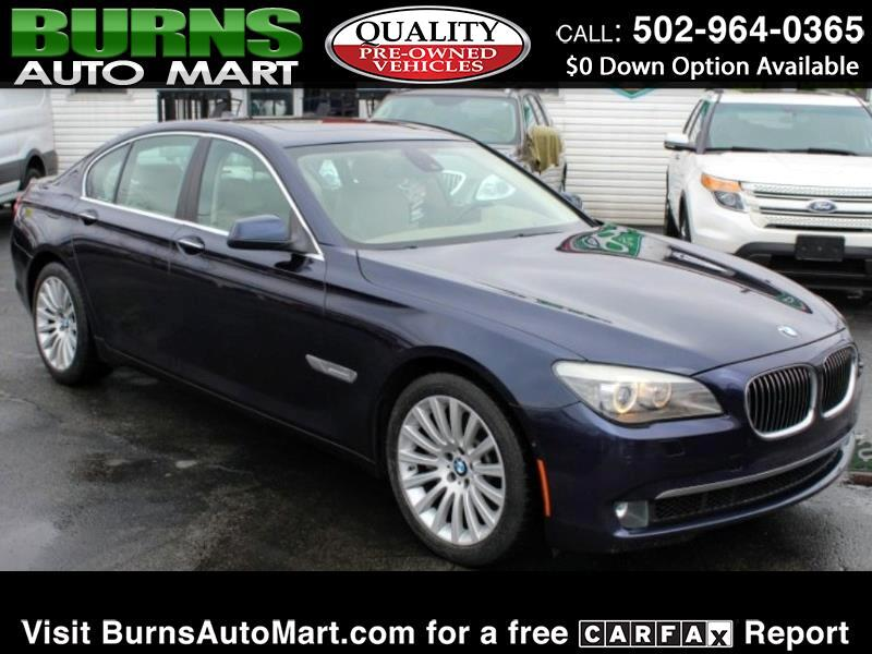 2012 BMW 7 Series 4dr Sdn 750i