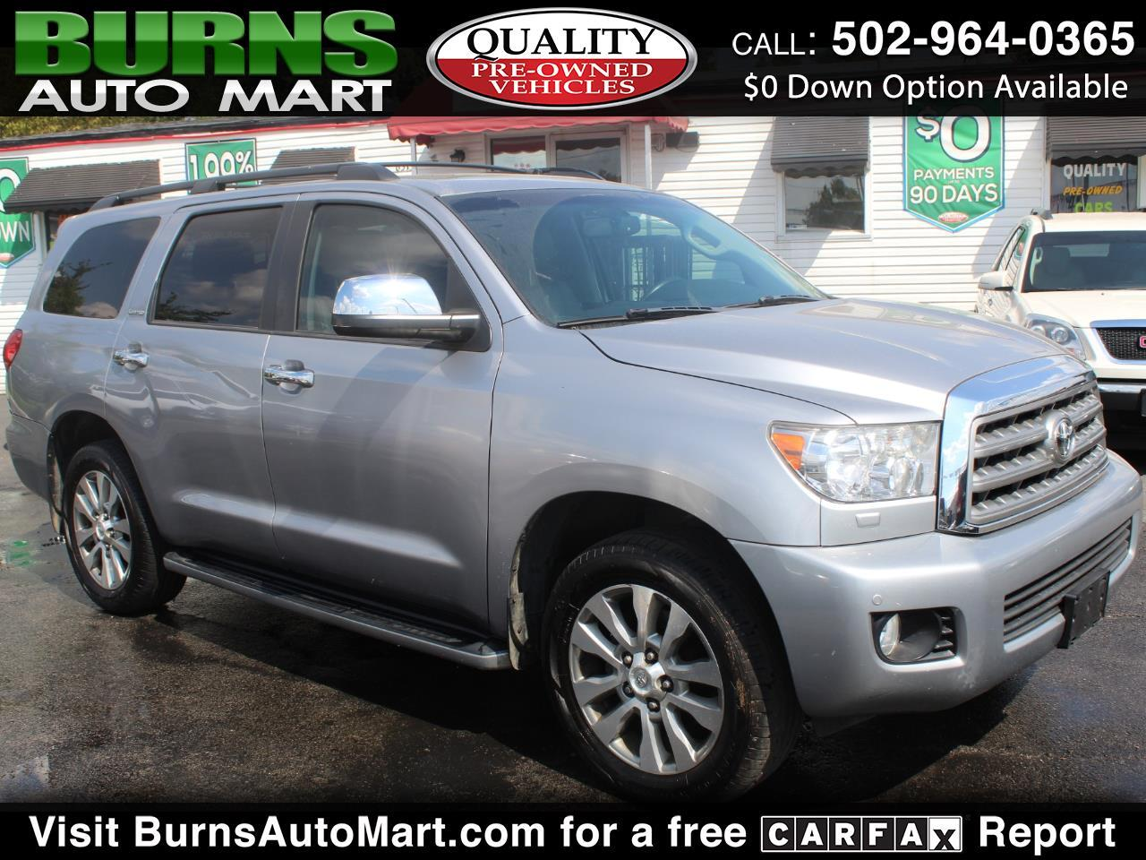 2012 Toyota Sequoia Limited Dvd Navigation Sunroof