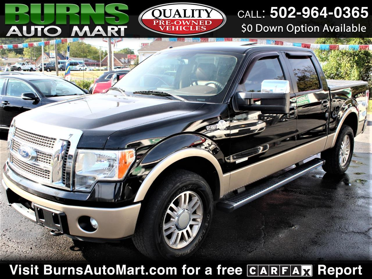 Ford F-150 King Ranch SuperCrew 6.5-ft. Bed 4WD 2012