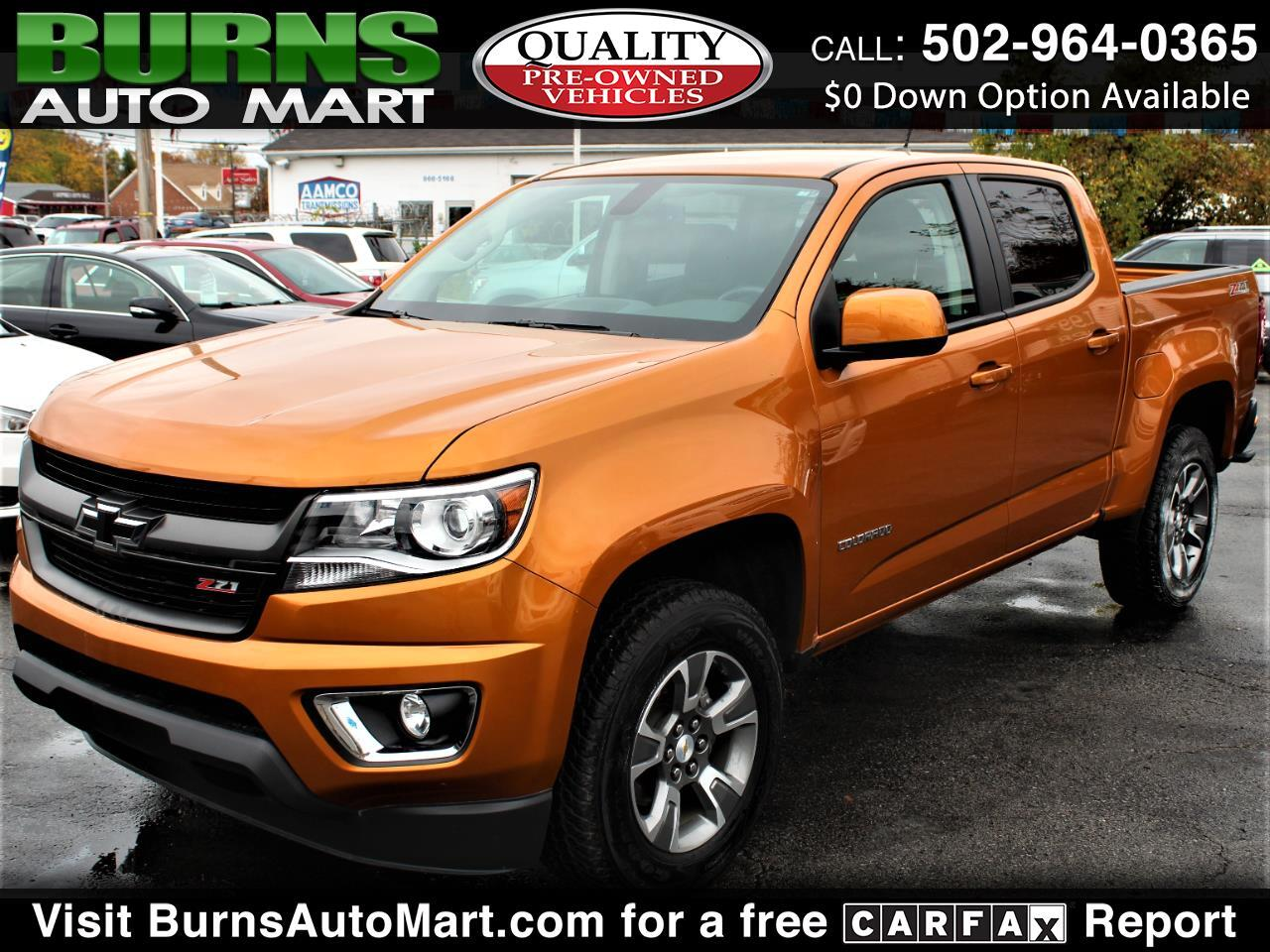 Chevrolet Colorado Z71 Crew Cab 4WD 2017